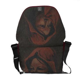 La bolsa de mensajero del carrito de los nómadas bolsa de mensajería