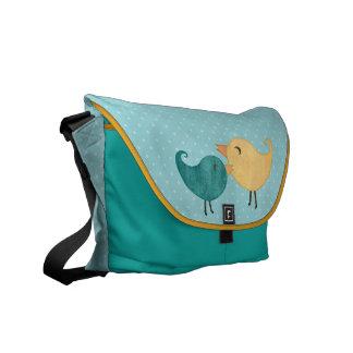 La bolsa de mensajero del carrito de los pájaros bolsa de mensajería