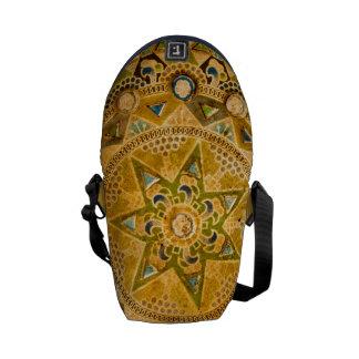 La bolsa de mensajero del carrito del fresco de la bolsa de mensajería