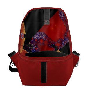 La bolsa de mensajero del diseño del remiendo del bolsas de mensajería