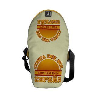 La bolsa de mensajero del personalizado de ESPAÑA  Bolsas De Mensajeria