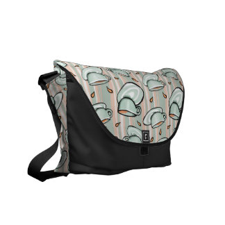 La bolsa de mensajero del verde del relevo de las bolsas messenger