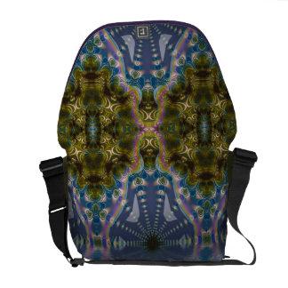 La bolsa de mensajero psicodélica de la yoga de Ch Bolsas De Mensajeria
