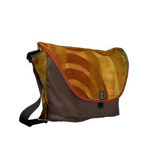 La bolsa de mensajero retra del carrito bolsa de mensajeria