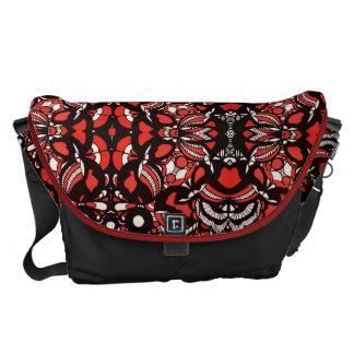 La bolsa de mensajero roja de la envidia bolsas de mensajería