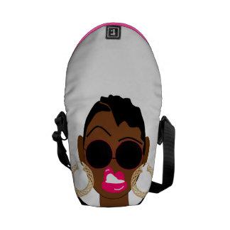 La bolsa de mensajero urbana de la reina de