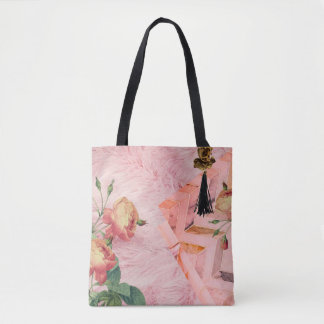 La bolsa de viaje color de rosa de la declaración