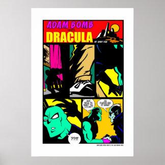 ¡La bomba de Adán encuentra a Drácula Posters