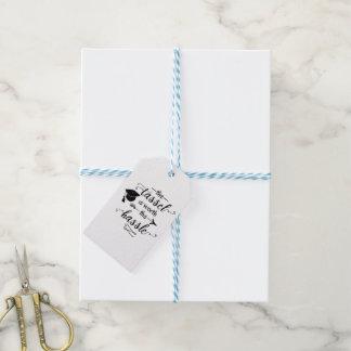 La borla vale la graduación del molestia etiquetas para regalos