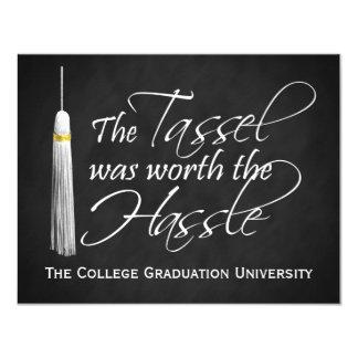La borla valió la graduación de la universidad del