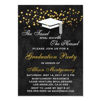 La borla valió la invitación del graduado del