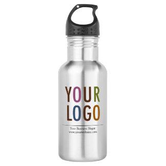 La botella de agua de encargo con el logotipo BPA