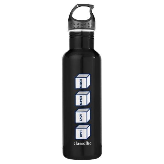La botella de agua de la ventaja del amor de