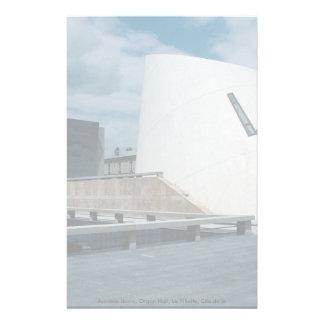 La bóveda acústica, órgano Pasillo, La Villette, Papelería Personalizada