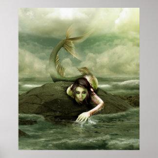 la bruja del mar póster