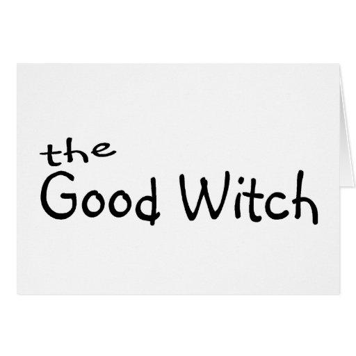 La buena bruja tarjetón