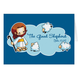 La buena tarjeta del pastor