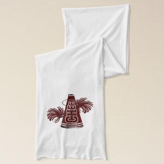La bufanda elegante marrón y blanca de la