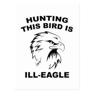 La búsqueda de este pájaro es Enfermo-Eagle Postal