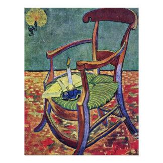 La butaca de Paul Gauguin de Vincent van Gogh Folleto 21,6 X 28 Cm