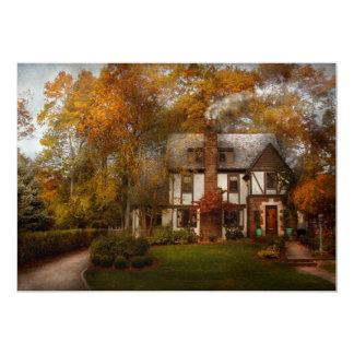 La cabaña - Westfield, NJ - un hogar tiene gusto Invitación 12,7 X 17,8 Cm