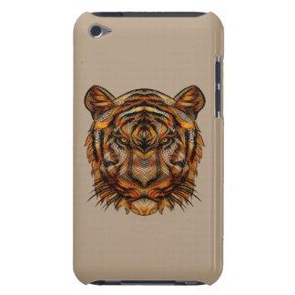 La cabeza 1a del tigre cubierta para iPod de barely there