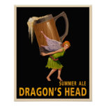 La cabeza del dragón impresiones