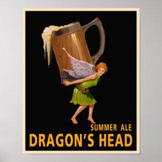 La cabeza del dragón póster