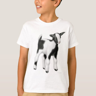 La cabra linda del bebé embroma la camiseta