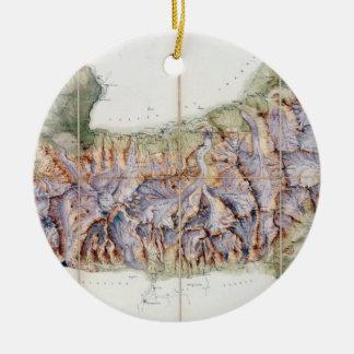 La cadena de Mont Blanc de una encuesta real aden Ornamento De Reyes Magos