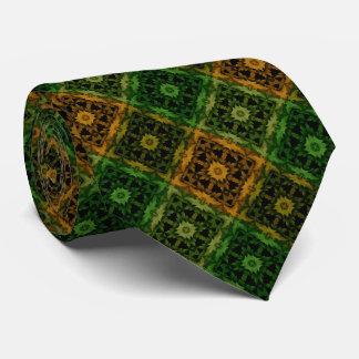La caída colorea el remiendo corbatas personalizadas
