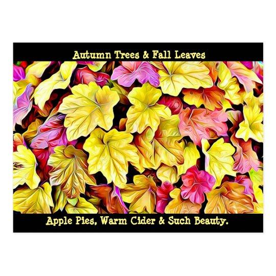 La caída feliz del otoño deja la postal