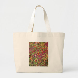 La caída hermosa de la naturaleza imprime los bolsas de mano