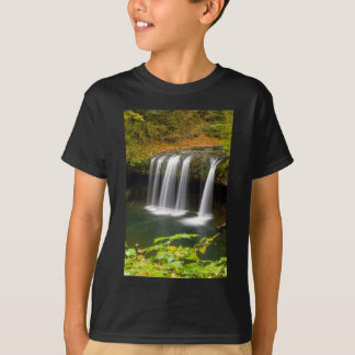La cala superior de la mota cae en otoño camiseta