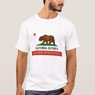¡la California-estado-bandera, DEJÓ LOS E.E.U.U. Camiseta