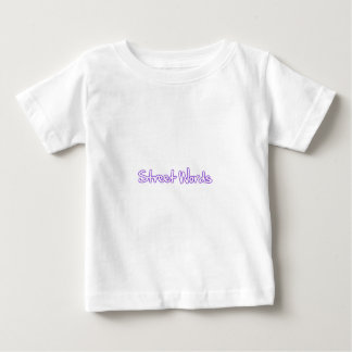 La calle redacta al funcionario camiseta de bebé