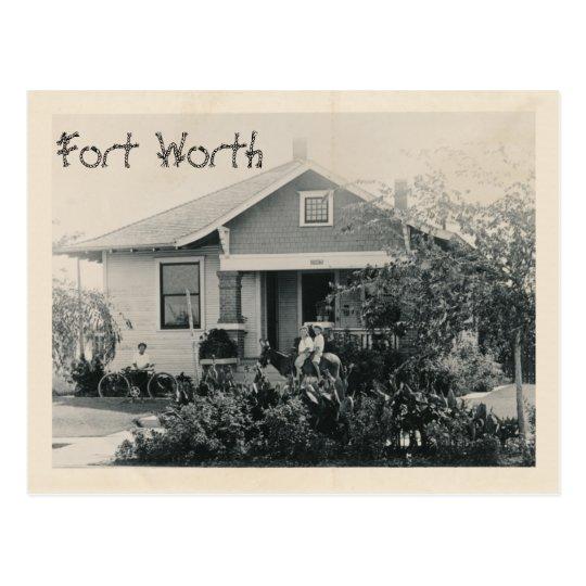 La cama y desayuno, Fort Worth, Tejas de Callie Postal