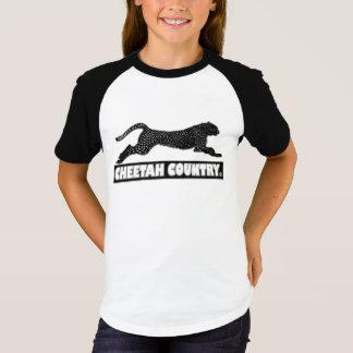 La camisa animal del diseñador del guepardo