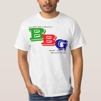 La camisa barata de BBG