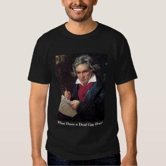 ¿La camisa de Beethoven de los hombres, qué un