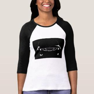 La camisa de la manga de la mujer larga de Saab