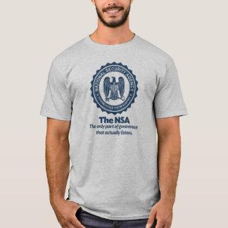 Camiseta La camisa de la parodia del NSA