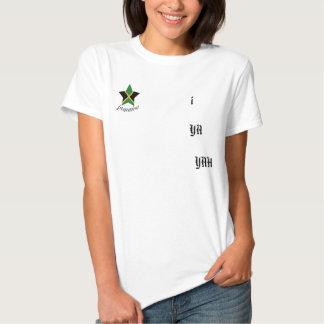 """La camisa de las mujeres de Jamaica """"yo Ya Yah"""""""
