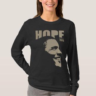 La camisa de las mujeres de la esperanza 2012 de