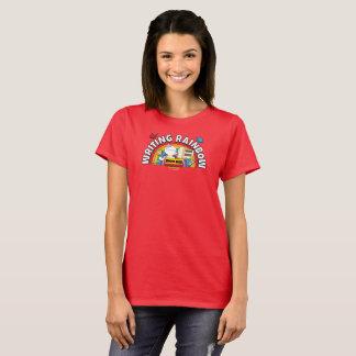 La camisa de las mujeres del arco iris de la