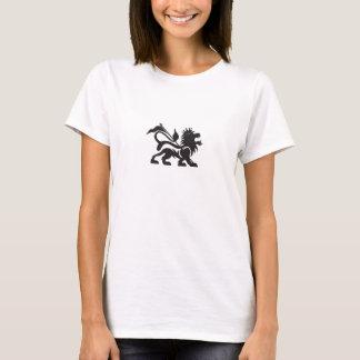 La camisa de las mujeres del león de Rasta