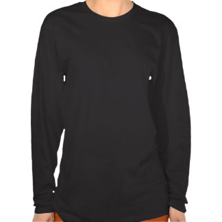 La camisa de las mujeres largas de la manga de la