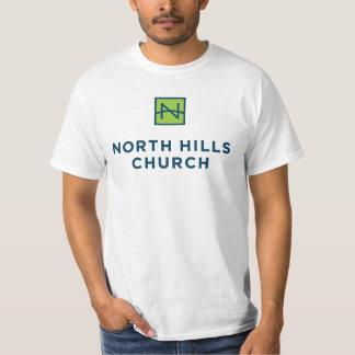 La camisa de los hombres con el logotipo solamente