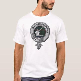 La camisa de los hombres de Gunn del clan