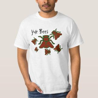 La camisa de los hombres de las abejas de Yule